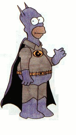 BatHomer, Homer as Batman!