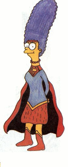 SuperMarge, Marge as Superwoman!